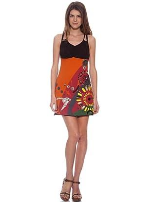 HHG Kleid Larissa (Orange)