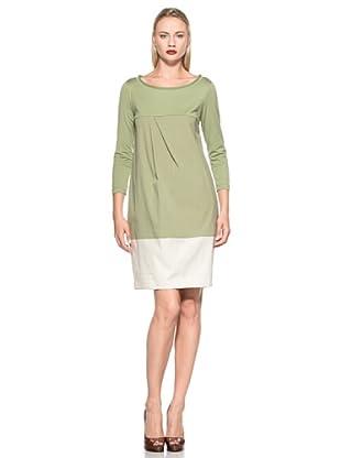 Gossip Vestido Cinuria (Verde / Beige)