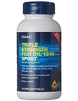 GNC Triple Strength Fish Oil Sport - 90 Mini Softgels