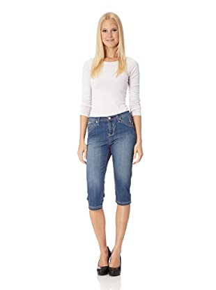 BLUE FIRE Caprijeans Audrey Hippie Group (pacific destroyed)
