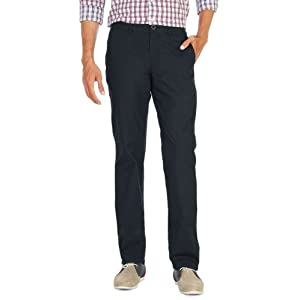 Cotton Flat Front Trousers