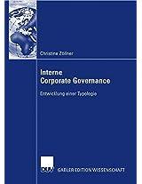 Interne Corporate Governance: Entwicklung einer Typologie