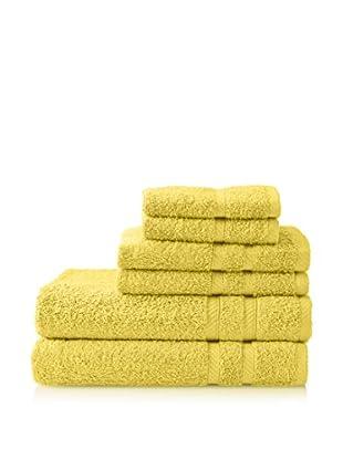Nautica Set of 6 Crew Classic Towel Set (Yellow)