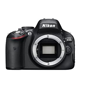 Nikon D5100 16.2MP Digital SLR Camera Body Only (Black) with 4GB Card, Camera Bag