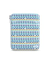 NEW - The Luxe, Leatherette iPad Sleeve - Blue - JV-iCC2012BLU