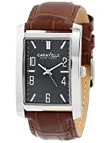 Caravelle by Bulova Dress Analog Grey Dial Men's Watch - 43A119