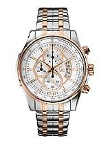Gc Reade X81003G1S Silver Round Dial Chronograph Watch - For Men
