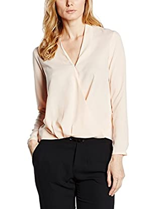 Capital B Blusa Capital B Draped Blouse nude 48