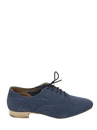 Eye Shoes Zapatos Franceses (Azul Oscuro)
