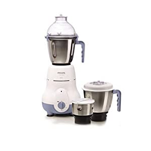 Philips HL1643/04 600-Watt 3 Jar Super Silent Vertical Mixer Grinder
