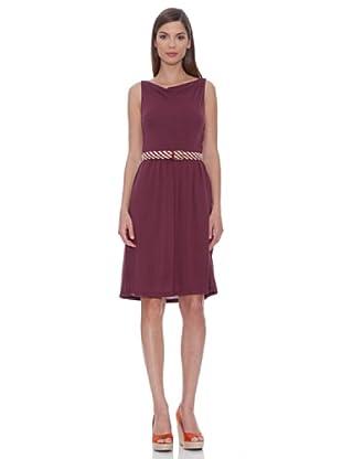 SIYU Kleid Basic Ärmellos (Violett)