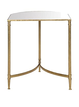 Safavieh Nevin Accent Table, Gold/Mirror Top