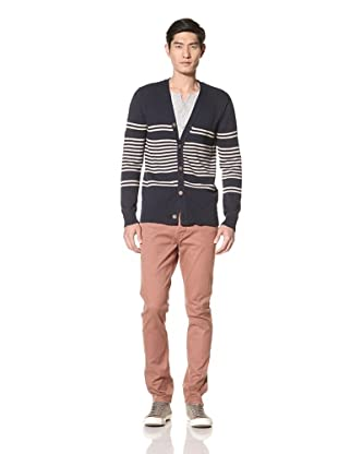 Zanerobe Men's Kees Cardigan Sweater (Navy)
