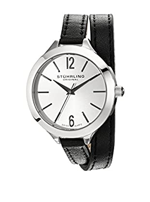 Stührling Uhr mit Schweizer Quarzuhrwerk Deauville Sport schwarz 38 mm
