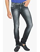 Black Low Rise Slim Fit Jeans Street Guys