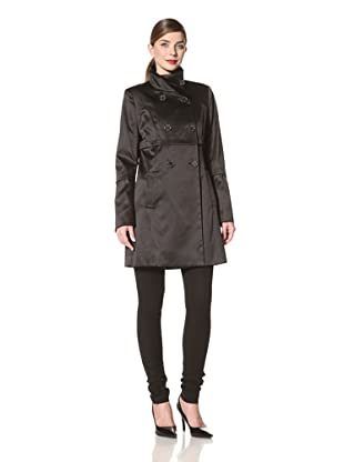 Tahari Women's Anya Double-Breasted Jacket (Black)
