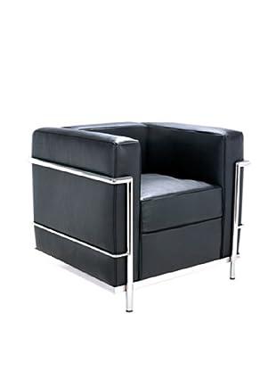 Manhattan Living Cube LC2 Petit Chair, Black