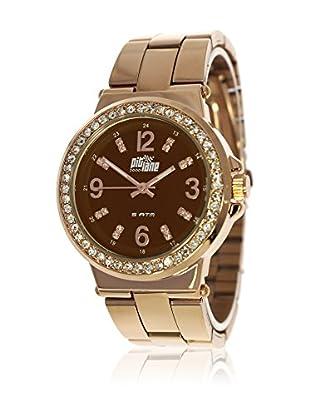 Pit Lane Uhr mit Miyota Uhrwerk Pl-4007-3 rosé 38 mm