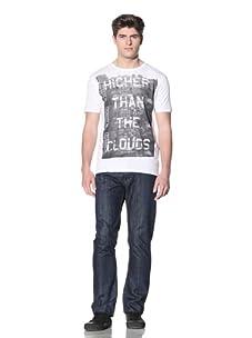 MG Black Label Men's Higher Graphic Tee (White)