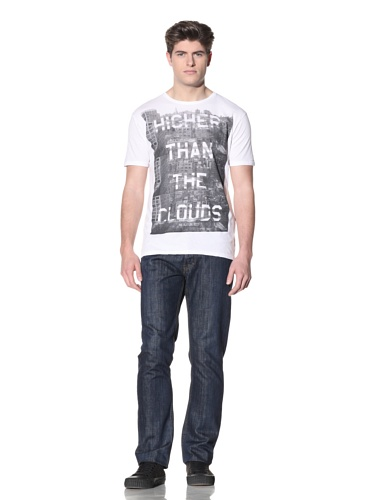 MG Black Label Men's Higher Graphic Tee (White)