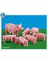 Pig and 6 Piglets
