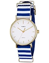Timex Weekender Fairfield Analog White Dial Women's Watch - TW2P91900AA