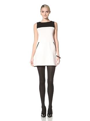 Yoana Baraschi Women's Twiggy Mini Dress (Ice/Black)