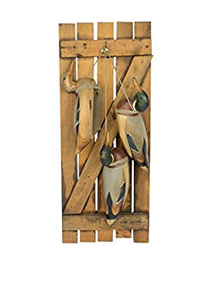 Uptown Down Previously Owned Wood Mallard Duck Decoy Wall Hanging