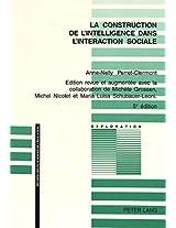 Construction de L'Intelligence (Exploration)