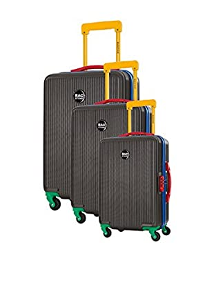 Bag Stone Set de 3 trolleys rígidos