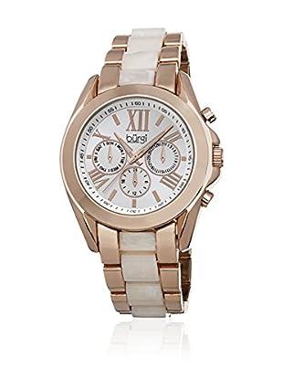 Bürgi Uhr mit Schweizer Quarzuhrwerk BUR094RG rosé/weiß 40  mm