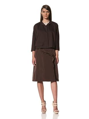 JIL SANDER Women's Cropped Twill Jacket