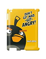 Gear4 Angry Birds Case for iPad 3, Black/Yellow (IPAB306G)