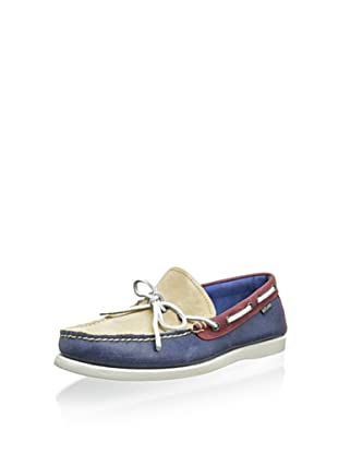 Eastland Men's Yarmouth 1-Eye Camp Moc (Blue Combo)