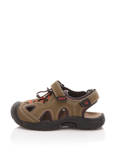 umi Nile Active Sandal (Little Kid/Big Kid) (Olive)