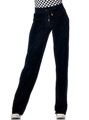 Datch Gym Pantalone Ciniglia (Nero)
