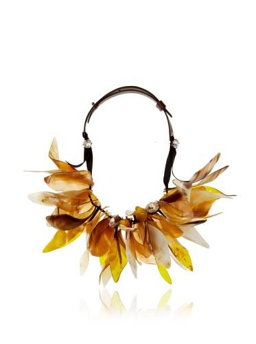 MARNI Women's Sodium Beaded Petal Necklace