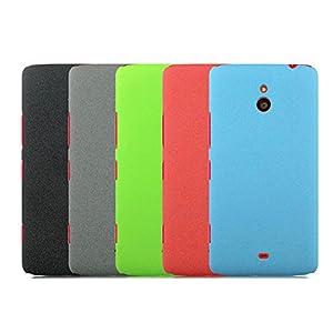 Nokia Lumia 1320 Quick Sand Series Back Cover Case - ORANGE