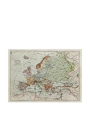 Panel Decorativo Europe Political Map