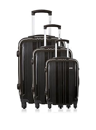 Travel ONE Set de 3 trolleys rígidos Barnley Gris