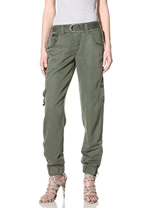 Cool Molecule Panama Parachute Pants  Women39s Longer Shorts  Cargo Shorts