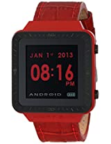ANDROID Unisex AD721BR SmartWatch GTS Digital Quartz Red Watch