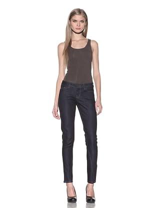 Post'age Denim Women's Wolverton Twisted Skinny Jeans (Japanese Dark Indigo)
