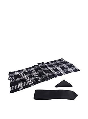 GIORGIO DI MARE Set: Schal + Einstecktuch + Krawatte