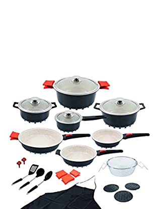 Cooking home es compras moda for Bateria cocina profesional