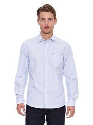 Salsa Camisa Monaco Slim Selvage (Azul Claro)