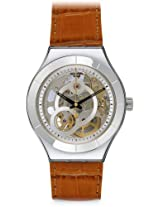 Swatch Analog White Dial Men's Watch - YAS107