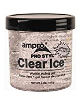 Ampro Pro Styl Clear Ice Protein Styling Gel, 6 Ounce (Pack of 6)