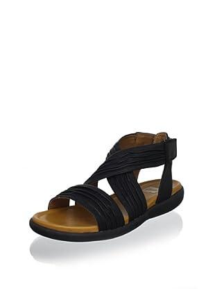 Cougar Women's Bolero Ankle-Strap Sandal (Black)