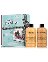 Philosophy Holiday Greetings Boxed Gift Set with Caramel Candies and Butterscotch Candy